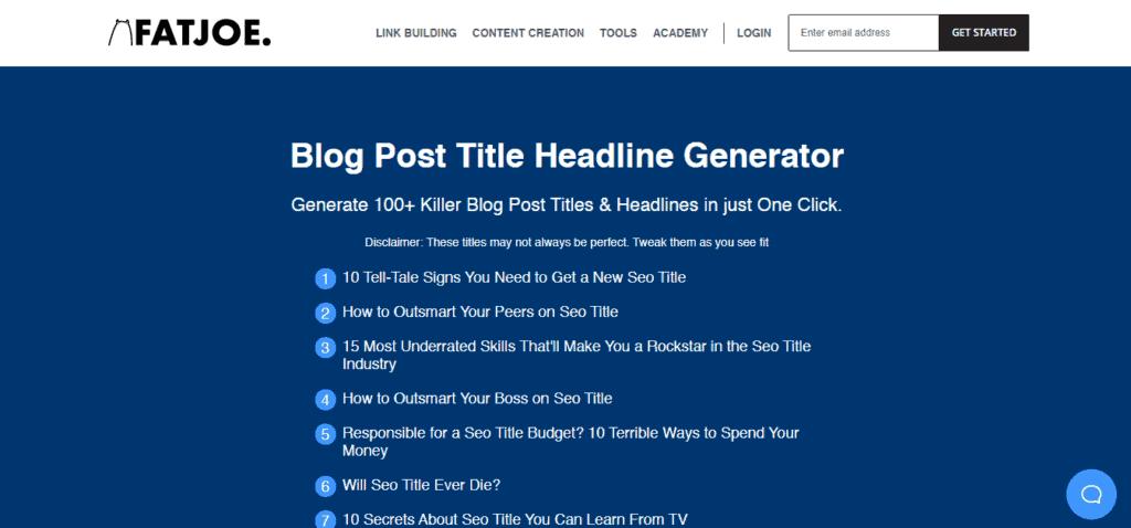 Fat Joes Blog Post Title Idea Generator 1024x478 1